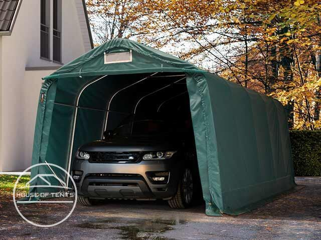 Robust and waterproof Portable Garages from house of tents