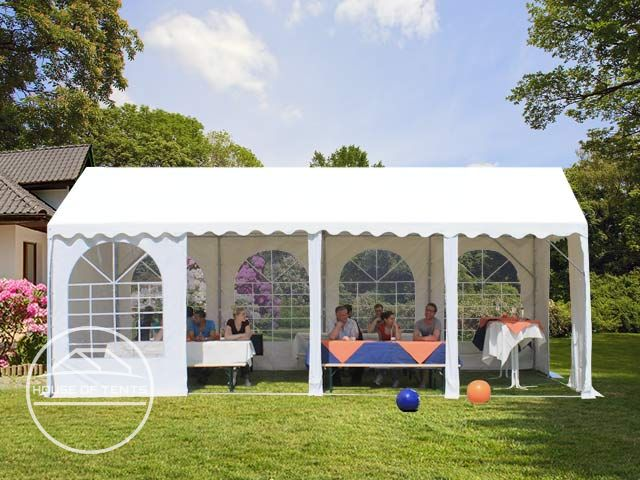 Stable and waterproof party tents from the house of tents