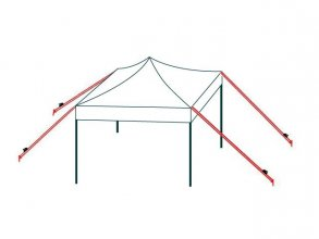 Storm Protection Kit for all Tents and PopUp Gazebos with pegs (for soft grounds)