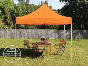 3x3m PES PopUp Gazebo / Canopy, orange