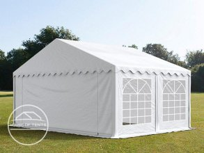 5x4m Marquee / Party Tent, PVC 500 g/m², white