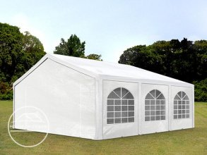 5x6m Marquee / Party Tent, PE 240 g/m², white