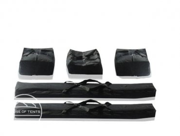 Carry Bag Set for 3m wide ECONOMY Marquees (2,0m Side Height)