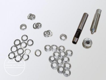 Eyelet Replacement Kit 12mm, 20 Eyelets