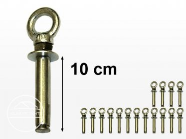 16 pcs Professional Ground Anchor