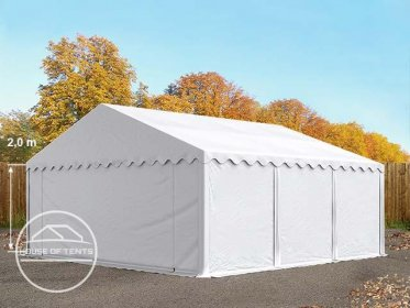 5x6 Storage Tent / Shelter, PVC, white