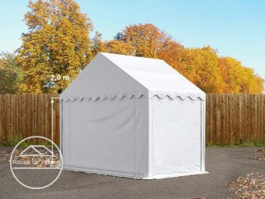 3x2 Storage Tent / Shelter, PVC, white