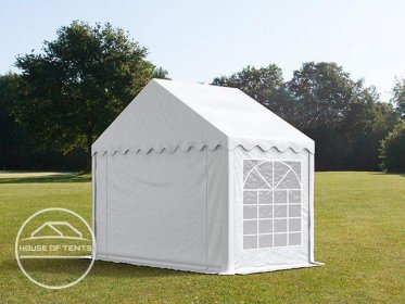 3x2m Marquee / Party Tent, PVC 500 g/m², white