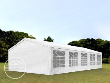 5x10m Marquee / Party Tent, PE 180 g/m², white