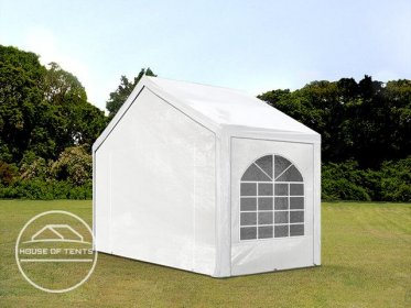 3x2m Marquee / Party Tent, PE 240 g/m², white