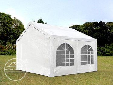 4x4m Marquee / Party Tent, PE 240 g/m², white