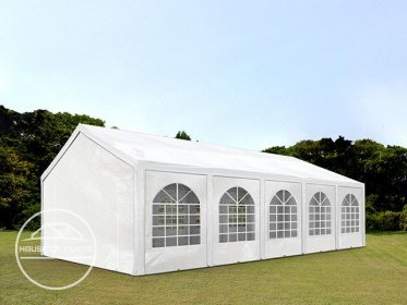 4x10m Marquee / Party Tent, PE 240 g/m², white