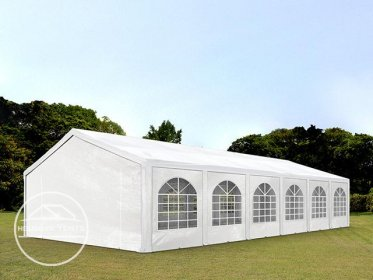 6x12m Marquee / Party Tent, PE 240 g/m², white