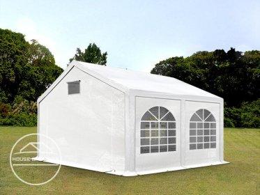 3x4m Marquee / Party Tent, PE 300 g/m², white