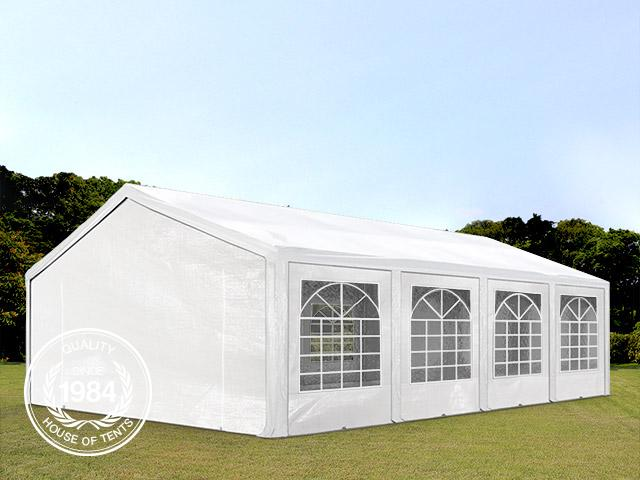 5x8m Marquee / Party Tent, PE 240 g/m², white