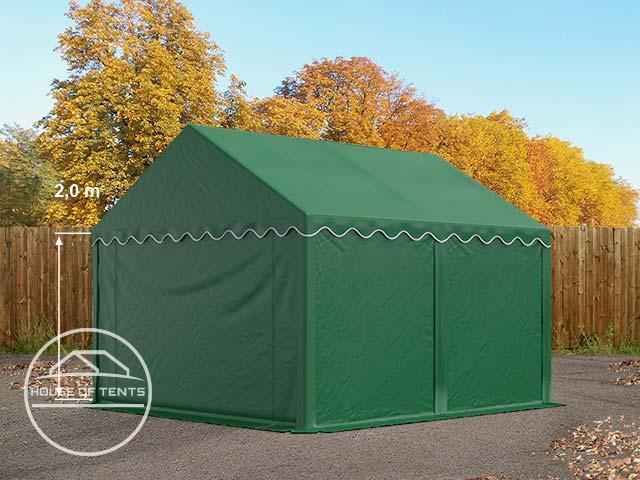 3x4 Storage Tent / Shelter, PVC dark green