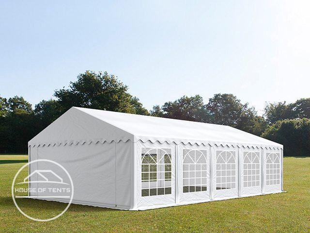 5x10m Marquee / Party Tent, PVC 500 g/m², white