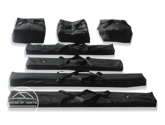 Carry Bag Set for 5m wide ECONOMY Marquees (2,0m Side Height)