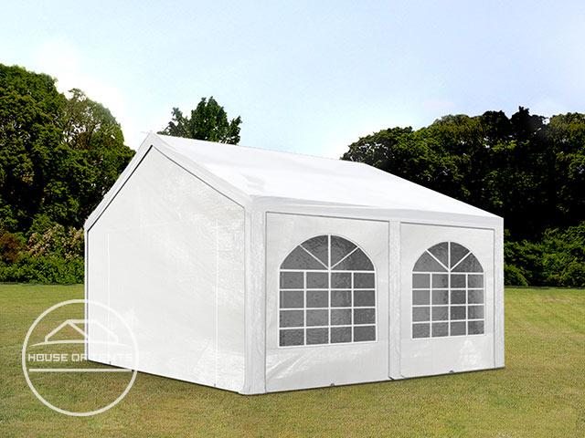3x5m Marquee / Party Tent, PE 240 g/m², white