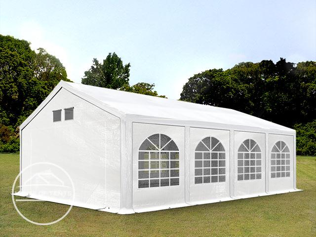 4x8m Marquee / Party Tent, PE 300 g/m², white
