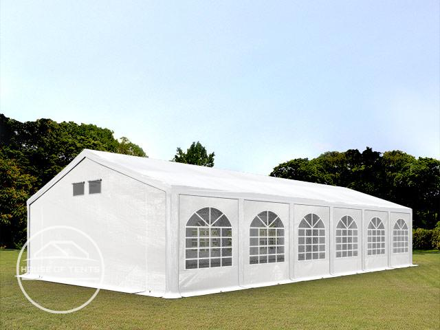 6x12m Marquee / Party Tent, PE 300 g/m², white