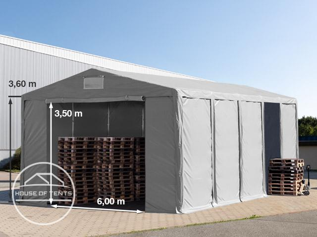 8x10m 3.6m Sides Storage Tent / Shelter w. Groundbar and zipper entrance, marquee PVC
