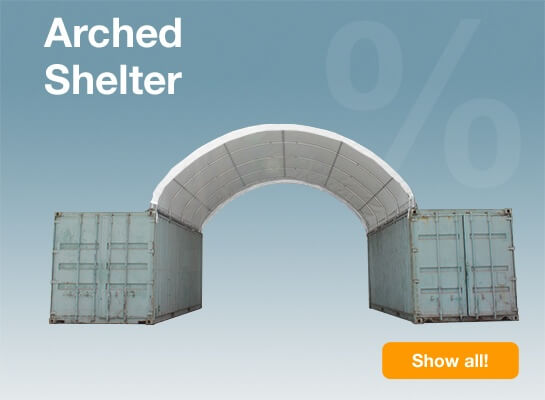 Arched Shelter SALE