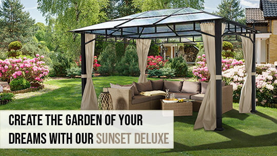 Garden Gazebo from House of tents
