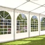 8 x 12m Marquee with fireproof PVC tarpaulin