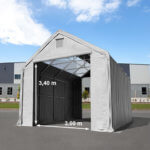 Storage tent Professional with skylights